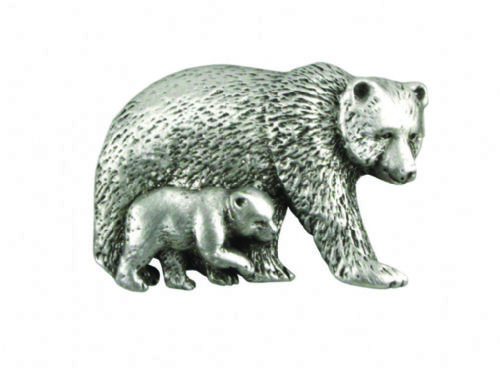 Bear And Cub Pin